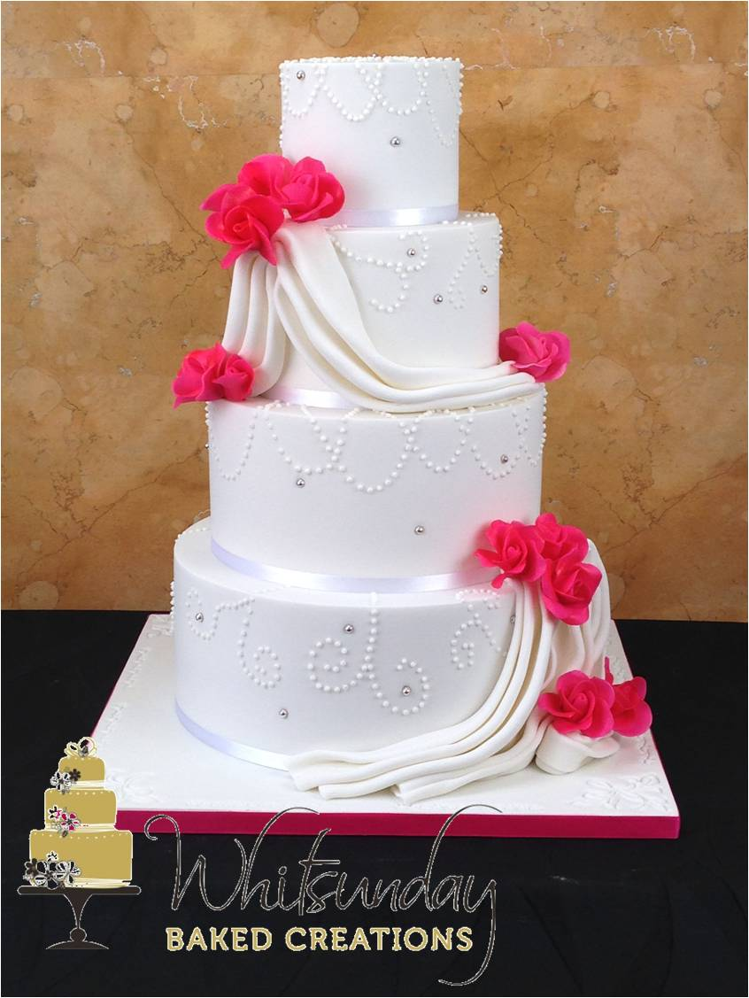 Most wedding cakes for celebrations: Wedding cakes airlie beach