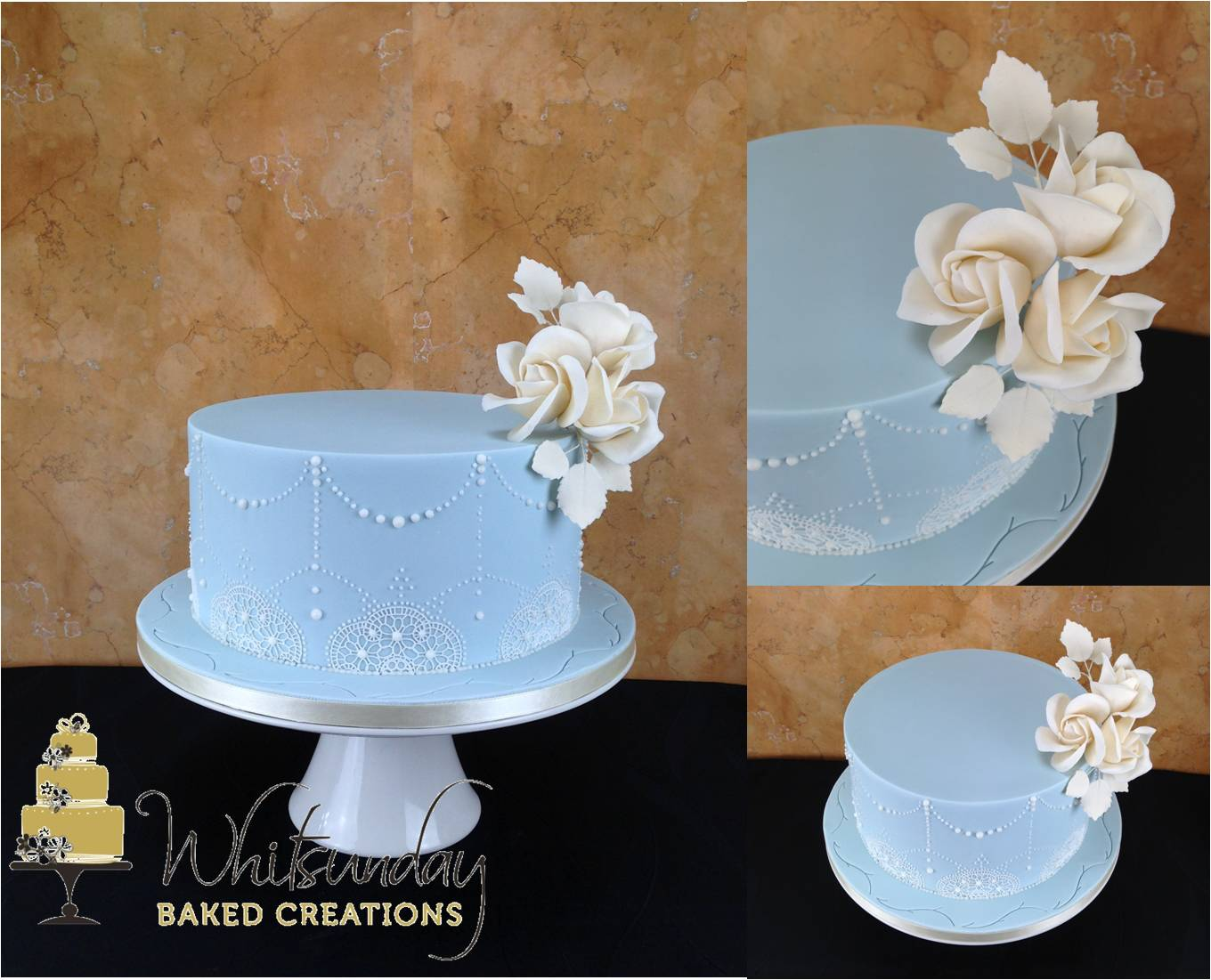 A Selection Of Small Cakes For That Smaller More Intimate Wedding Or Elopement