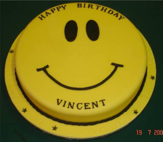 Vincent Price Birthday Cake