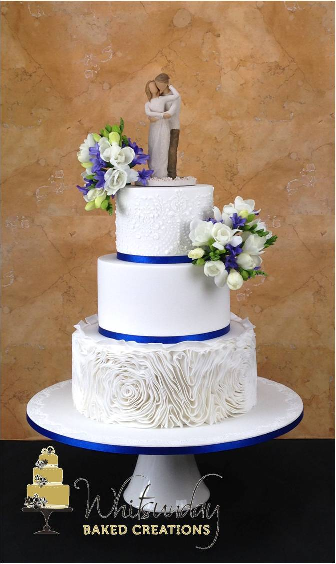 home baked wedding cakes whitsunday baked creations 15276